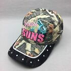 Glitter And Guns Camo Womens Logo Hat Strap Back Adjustable Cap