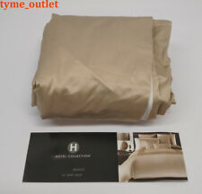 CAL-KING BEDSKIRT Hotel Collection Mosaic GOLD - BRONZE Solid