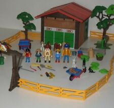 Playmobil Country Pony Riding Camp Set Country Horse Stable Farm Lot 5960