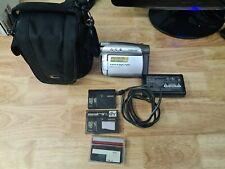 Sony Handycam DCR-HC24E MiniDV Camcorder 20x Optical Zoom Read Description