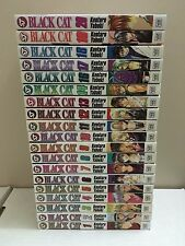 Black Cat Manga Lot Near Complete 19 Volumes - English Viz -  Kentaro Yabuki