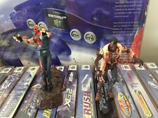 Toy Biz Resident Evil figures with stand