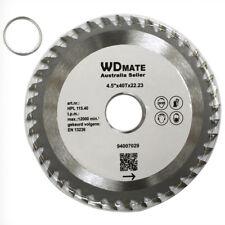 "10x Wood TCT Circular Saw Blade Cutting Disc 115mm 4.5"" 40T  ATB 94007029"
