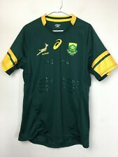 ASICS South Africa Rugby Men's Springbuks Jersey Size XL Green
