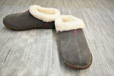 **Sorel Nakiska 1244411051 Slippers, Women's Size 6, Shale