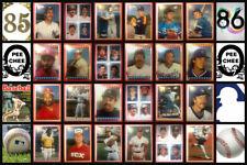 1985 O-Pee-Chee MLB Baseball Sticker Complete Set of 376 Nolan Ryan Mattingly