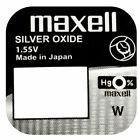 Maxell Pila Batteria per Orologio Mercury Free Battery Silver Oxide Japan 1.55V