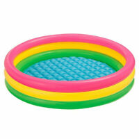 Pool Summer Inflatable Kids Fun Swimming Center Play Water Outdoor Family Glow B
