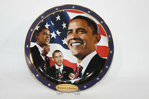 Barack Obama Collector's Plate 'Yes We Can' Plate No. 8929 A - Limited Edition