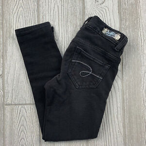 Justice Girls Size 5R Jeggings / Jeans - Stretch Fit Black Pants