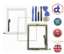 For iPad 4 White Replacement Screen Touch Digitizer,Frame Bezel&Home Button Flex