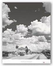 PHOTOGRAPHY ART PRINT Route 66 Texaco Gas Station Andreas Feininger