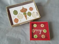 World Market Wine Markers / Charms & Lily McGee Christmas Ornaments Cards