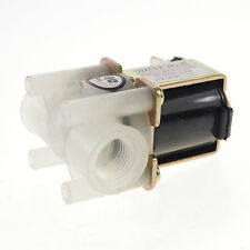 "12VDC 1/4"" BSPP NC Female Nylon Plastic Electric Solenoid Valve Water Fluid"