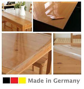 Tischdecke Schutzfolie Tischfolie Tischschutz Folie transparent 2.5 mm B - Ware