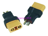 1pce T Plug Deans male to XT90 XT-90 female No wire adapter for RC