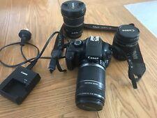Canon EOS 1100D DSLR and 3 lens - bargain bundle