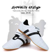 Pair of Taekwondo Sport Shoes Boxing Kung fu Shoes TaiChi Martial arts shoes