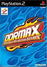PS2 DDRMAX Dance Dance Revolution 6th Mix Japan