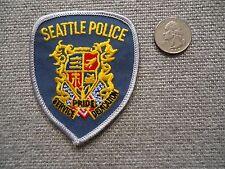Seattle Police Service Pride Dedication Patch