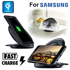Qi Wireless Charging Stand Dock Pad Charger for Samsung Galaxy S6 S7 Edge Note 5