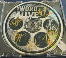 The Word Alive Life Cycles Tony Tyler Zack Daniel Luke metal auto CD © 2012 COA