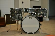 Ludwig Oyster Black Pearl Downbeat Drum Set ~ SHOWROOM CONDITION