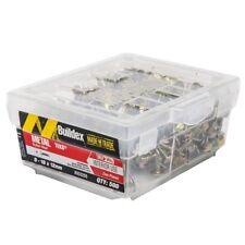 Buildex BUTTON HEAD METAL TEK SCREWS 8-18x12mm 500Pcs Zinc Plated *Aust Brand