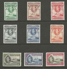 GOLD COAST SG121-31 THE 1938 GVI SCARCE PERF 12 SET OF 9 FINE MINT CAT £292+