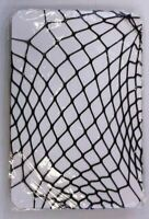 Boohoo Women's Kate Halloween Fishnet Strappy All in One Black CB8 One Size NWT