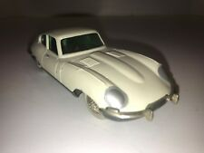 Vintage Schuco Windup Jaguar E Type Micro Racer 1047/1 Used Very Nice