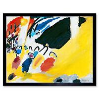 Wassily Kandinsky Impression Iii Concert Art Print Framed 12x16