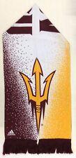 NCAA Arizona State Sun Devils Adidas Silky Feel Fringe Scarf Style # S621Z NEW!