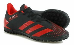 Adidas Predator 20.4 TF J Red and Black Youth Soccer Cleats Various Sizes