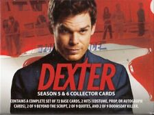 DEXTER SEASON 5 & 6 COMPLETE 72 CARD COMPLETE SET WITH BOX BREYGENT FREE SHIP