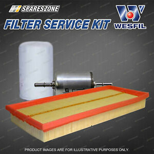 Wesfil Oil Air Fuel Filter Service Kit for Jaguar X-Type X400 2.1L 2.5L 3.0L V6