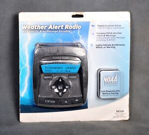 Acu-Rite Weather Alert Radio with Specific Area Message Encoding 4.5V Adapter