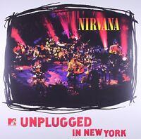 NIRVANA - MTV UNPLUGGED IN NEW YORK  VINYL LP NEW! 180 GRAM VINYL REMASTERED +MP