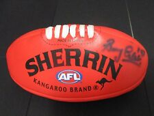 Western Australia - Barry Cable (AFL Legend) signed mini red sherrin football