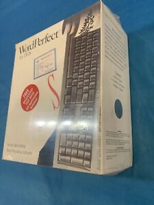 """VINTAGE SEALED WORDPERFECT 5.1 For DOS  3.5"""" Diskettes NEW NIB FACTORY SEALED"""