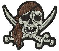Patch écusson blason patche Pirate Corsaire thermocollant