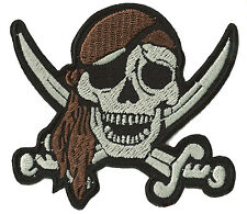 Patch écusson blason patche Pirate Corsaire thermocollant