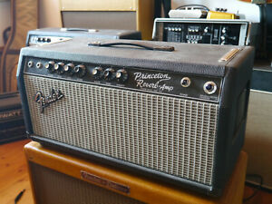 Princeton Reverb Blackface Tube Amp in Fender 75 Head