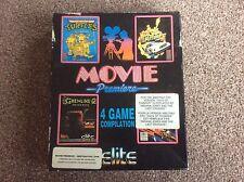 Amstrad CPC Movie Premiere 4 Game Pack Rare Excellent Elite