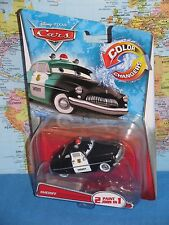 DISNEY PIXAR CARS SHERIFF COLOR CHANGERS 2 PAINT JOBS IN 1 **BRAND NEW & VHTF**