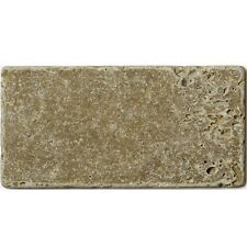 Noce unfilled & tumbled travertine tiles 7.6 x 15.2cm - 1m²