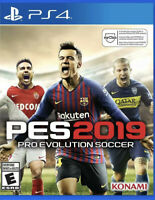 PES 2019 Pro Evolution Soccer Ps4 PlayStation 4 Game Disc Only 48s Kids Sports