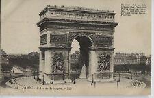 Carte Postale 156 - France - Paris L'Arc de Triomphe