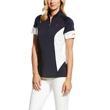 0a42d1a3a3da4 £29.95 New. Ariat Cambria Womens T-shirt Polo Shirt - Navy All Sizes X Large