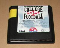Bill Walsh College Football 95 for Sega Genesis Fast Shipping! Authentic